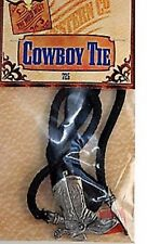 Cowboy Boot MANZO CORDA Bootlace TIE FANCY DRESS COLLANA TORO INDIANO ACCESSORIO