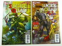DC SUICIDE SQUAD (2011) #2-3 NEW 52 HARLEY QUINN LOT Ships FREE!