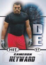 OHIO STATE BUCKEYES CAMERON HEYWARD 2011 SAGE HIT #37 ROOKIE CARD RC