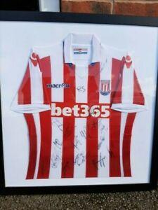 Stoke City Signed Football Shirt