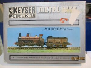 A KEYSER MODELS UN-STARTED KIT FOR A M.R KIRTLEY 0-6-0 O/F LOCO & TENDER