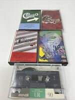 Lot Of 5 Chicago Cassette Tapes Lot 19 Greatest Hits Others See Description