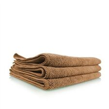 """Chemical Guys MIC_354_01 Workhorse Microfiber Towel, Tan, 16""""x16"""" (3 Pack)"""