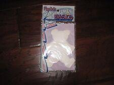 Paplin's Basic Teddy Bear Large Shape White Paper #01031 – 20 pc