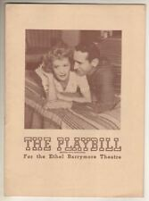 "Miriam Hopkins & Victor Jory   ""The Perfect Marriage""  Playbill  1944"