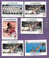 Lot of 1992 Impel Promo US Olympic Cards 8 cards  Dan O'Brien Jackie Joyner
