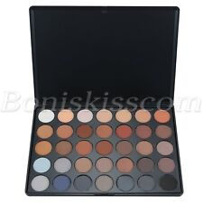 32 Colors Earth Tone Shimmer Highlighter Eyebrow Powder Eyeshadow Makeup Palette