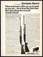 1975 REMINGTON Model 742 and 742BDL Custom Deluxe Woodmaster Automatic RIFLE AD