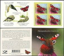Estonia 2014 Peacock Butterfly/Insects/Nature/Butterflies 4v s/a bklt (ee1210)