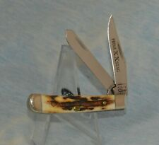 "RARE CASE XX STAG TINY TRAPPER KNIFE 52154 2000 ""RARE PRIME STAG"" ""NEAR MINT!!"""