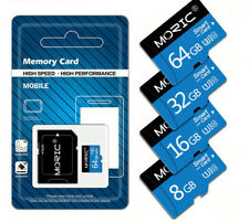Micro SD Class 10 SDHC TF High Speed 8GB Memory Card   (Free SD Adapter)