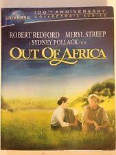 Out of Africa (Blu-ray Disc, 2012, 2-Disc Set) Robert Redford, Meryl Streep
