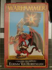 Warhammer Fantasy Egrimm Van Horstmann on Chaos Dragon NIB Sealed Shrink