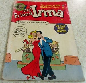 My Friend Irma 17, (VG/FN 5.0) 1952 DeCarlo art! Paper Dolls! 25% off Guide!