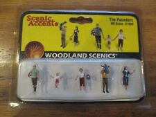 Woodland Scenics Scenic Accents The Founders #A1930 HO Scale w Free ship!