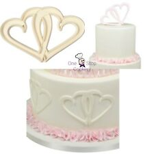 FMM ENTWINED HEARTS Cutters Sugarcraft Cake Decorating Art & Craft
