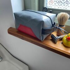 Wash Bag Make Up Bag Upcycled Fairtrade made in Malawi from lorry curtains