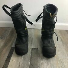 Globe Firefighter 14' Structural Boots - Made in USA - Size 10.5 W  - USED