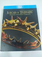 Set de Thrones Seconda Stagione 2 Completa - 5 X Blu-Ray Spagnolo Inglese