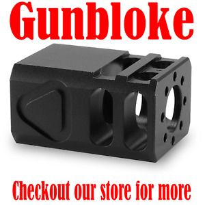 "GLOCK COMPACT2 Muzzle Brake Compensator G17 G19 G26  1/2x28 (1/2"" UNEF)"