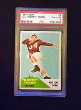 """1960 Fleer Tom """"Corky"""" Tharp #2 Psa 8 (population 23)"""