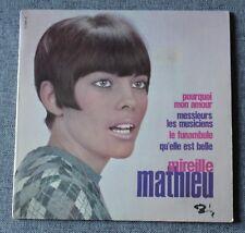 Mireille Mathieu, pourquoi mon amour, EP - 45 tours  verso 1