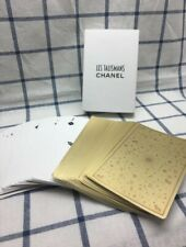 CHANEL No. 5 Gold VIP Birthday Gift Poker Playing Cards Box