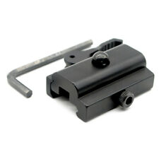 Black Quick Detach Cam Lock QD Bipod Sling Stud Adapter Picatinny/Weaver Rails