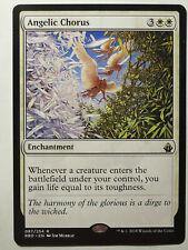 Battlebond Rare NM ANGELIC CHORUS MTG Magic the Gathering