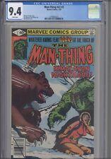 Man Thing V2 #2 CGC 9.6 1989 Marvel Comic Michael Fleisher Story