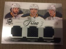 2011-12 THE CUP Trios KASSIAN Foligno McNabb #11/25