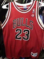 Michael Jordan Chicago Bulls Champion Brand Jersey Youth L 14-16