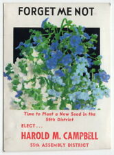Old Campaign Item: Flower Seed Package: