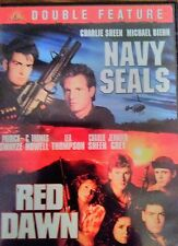 NAVY SEALS / RED DAWN DOUBLE FEATURE LEA THOMPSON CHARLIE SHEEN DVD
