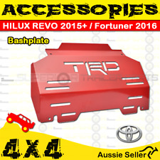 Superior 4X4 Accessories - Red Bashplate - HILUX REVO 2015+ / FORTUNER 2016