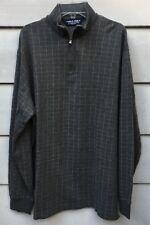 Polo Ralph Lauren Golf Zip Neck Shirt Men's Large 85% Pima Cotton 15% Alpaca Guc