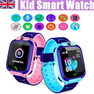 Kids Smart Watch Camera SIM GSM SOS Call Phone Game Watches Boys Girls Gift UK