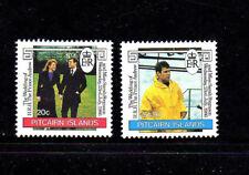 PITCAIRN ISLANDS #275-276  1986  ROYAL WEDDING  MINT  VF NH  O.G