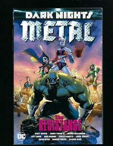 DC Dark Nights: Metal: The Resistance , 2018, TPB Green Arrow HARLEY QUINN VF/NM