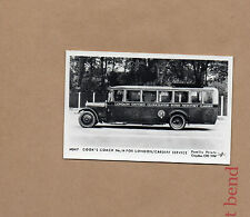 Cooks Coach No14 For London Cardiff servicemodern RP card old image br2