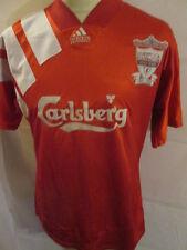 "Liverpool 1992-1993 Home Football Shirt Size Medium 40""-42"" chest lfc ynwa 100"