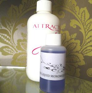 NSI Attraction Acrylic Nail Liquid 50ml Monomer Refill