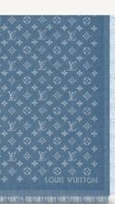Louis Vuitton Monogram Shawl in Blue