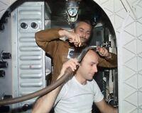 SKYLAB 4 COMMAND MODULE UNDOCKS FROM SPACE STATION 8X10 NASA PHOTO AA-091