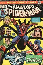 Amazing Spider-Man #135 VG+ MVS Intact 3rd Full Punisher Appearance Marvel 1974
