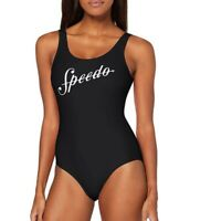 SALE.SPEEDO WOMENS SWIMSUIT.SHOSHIN U BACK BLACK ENDURANCE SWIMMING COSTUME 9W