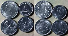 Greece: 4 Coins 5 Dr 1973 BU; 1986 Gem BU; 1966 CH.UNC; 10 Dr 1973 BU    IR4800