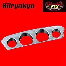 Kuryakyn Chrome Tri-Line Gauge Trim For '14-'17 Touring & Trike 7284