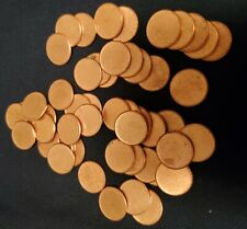 Complete Roll Of Lincoln Type 2 Cent Blanks