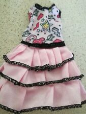 PINK RARA DRESS IN PINK WITH A JAZZY TOP FOR BARBI
